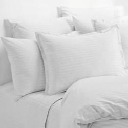 Melange Home Dobby Stripe King Pillowcases - Pair, 430 Thread Count