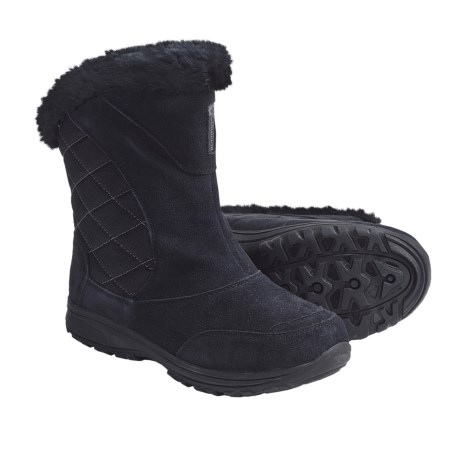 Columbia Sportswear Ice Maiden Winter Boots - Suede, Insulated (For Youth)