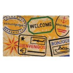 Imports Unlimited Passport Stamps Entry Mat - Coir, 18x30""
