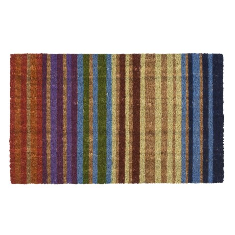 Imports Unlimited Rainbow Entry Mat - Coir, 18x30""