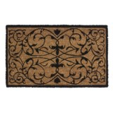 Imports Unlimited Iron Grate Entry Mat - Coir, 18x30""