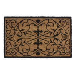 """Imports Unlimited Iron Grate Entry Mat - Coir, 18x30"""""""