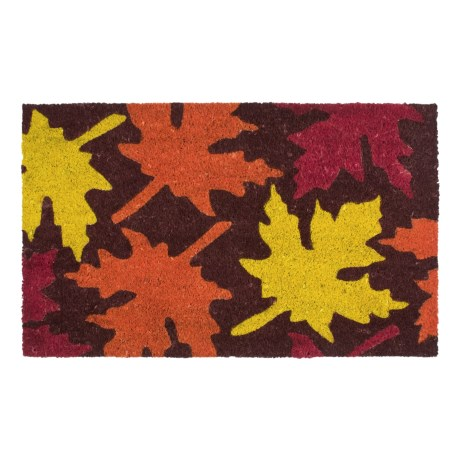 Imports Unlimited Maple Leaves Entry Mat - Coir, 18x30""