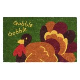 Imports Unlimited Gobble Gobble Entry Mat - Coir, 18x30""