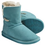 Bearpaw Abigail Winter Boots - Suede (For Kid and Youth)