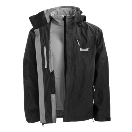 Marker Zodiac Gore-Tex® Performance Shell Jacket - Waterproof, 3-in-1 (For Men)