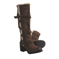 Zodiac USA Audreya Tall Boots - Distressed Leather (For Women)