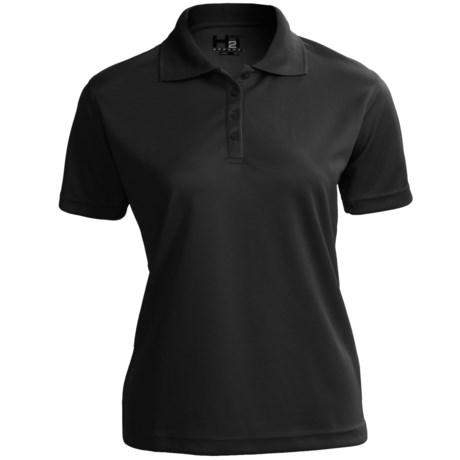 H2T Apparel High-Performance Polo Shirt - Short Sleeve (For Women)