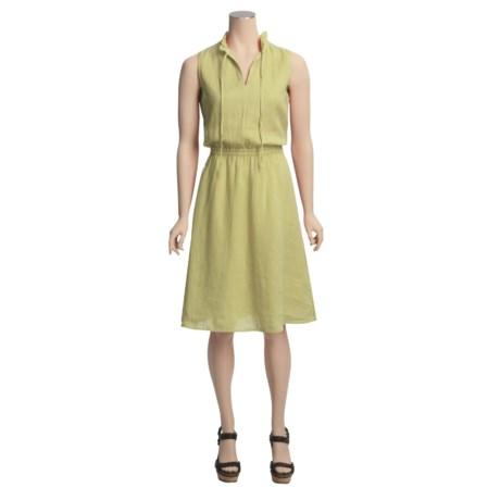 Pulp Linen Novelty Dress - Sleeveless (For Women)