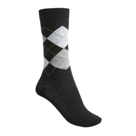 ECCO City Trouser Argyle Socks (For Women)