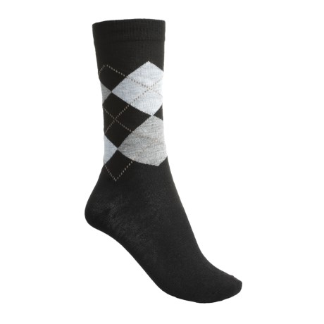 ECCO City Trouser Argyle Socks (For Women)
