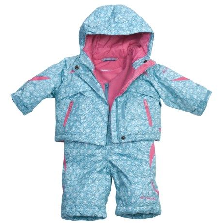 Columbia Sportswear Buga Jacket and Bib Set - Insulated (For Infant Girls)
