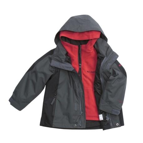 Columbia Sportswear Jagged Peak Jacket - 3-in-1 (For Little Boys)