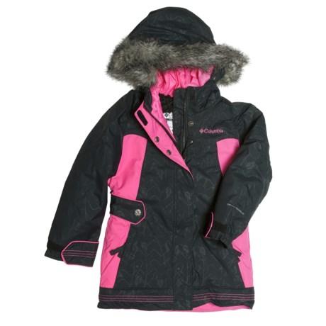Columbia Sportswear Bohemian Bliss Long Jacket - Insulated (For Little Girls)
