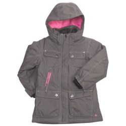 Columbia Sportswear White Hot Jacket - Insulated (For Little Girls)
