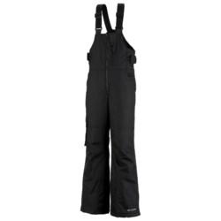 Columbia Sportswear Snow Check Bib Snow Pants - Insulated, Grow Cuffs (For Boys)