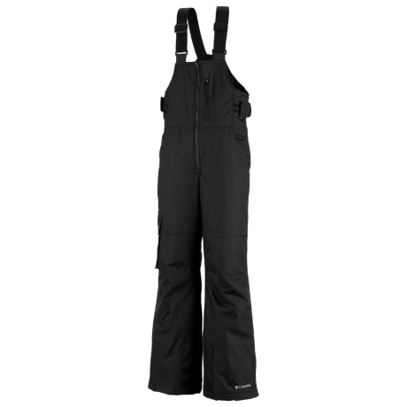 Columbia Sportswear Snow Check Bib Snow Pants - Insulated, Grow Cuffs (For Boys)