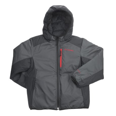 Columbia Sportswear Reverse Rider Jacket - Reversible, Insulated (For Boys)
