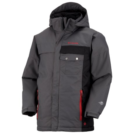 Columbia Sportswear Snow Check Jacket - Insulated (For Boys)