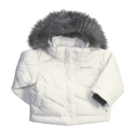 Columbia Sportswear Snow Trinity Down Bomber Jacket - Insulated (For Toddler Girls)