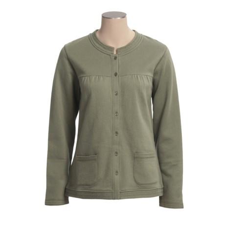 Calida Mix & Match Lounge Jacket - Single-Jersey Stretch Cotton (For Women)