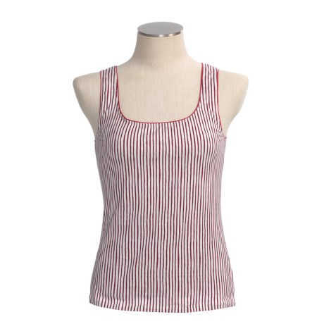 Calida Spare Time Tank Top - Stretch Pima Cotton (For Women)