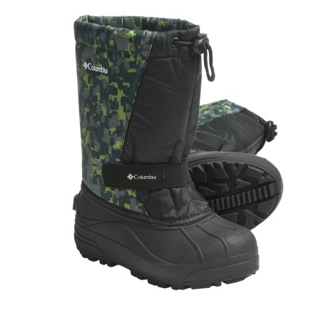 Columbia Sportswear Powderbug Print Winter Boots - Insulated (For Youth)