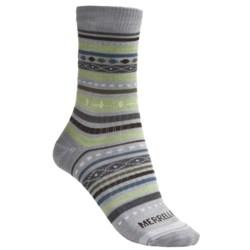 Merrell Ribbon Crew Socks - Lightweight (For Women)