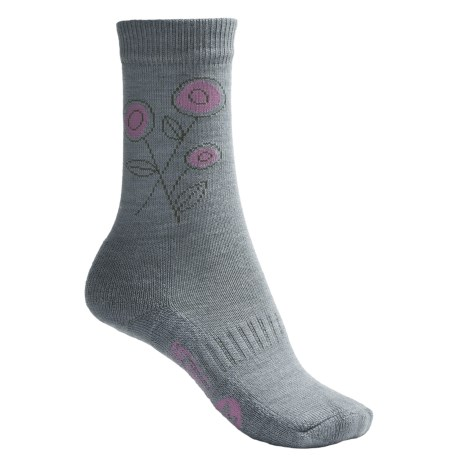 Merrell Frolic Socks - Medium Cushion, Crew (For Women)