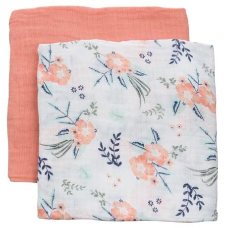 Chick Pea Muslin Swaddle Blanket - Set of 2 (For Infants)