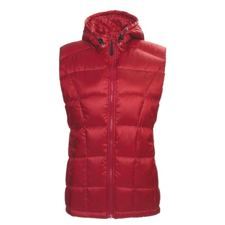 Hi-Tec Hank's Canyon Hooded Down Vest - 550 Fill Power (For Women)