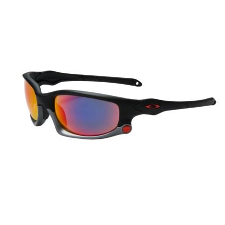 66ebb8df9ad Oakley Mens Split Jacket Iridium Polarized Sport Sunglasses ...
