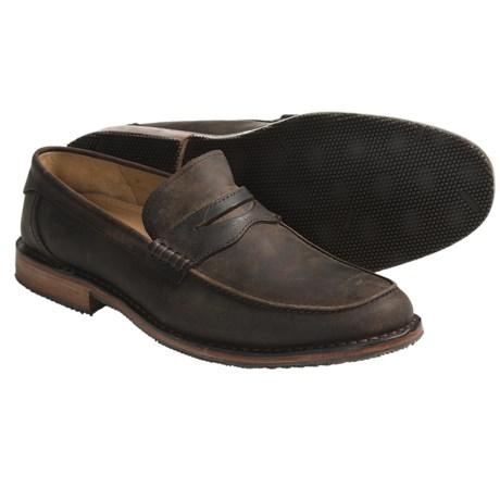 Sebago Bowdoin Shoes - Leather, Slip-Ons (For Men)
