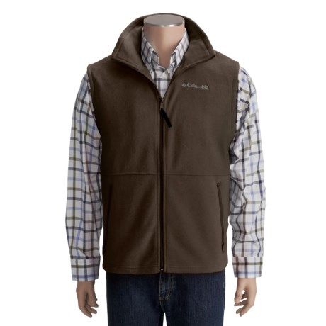 Columbia Sportswear Cathedral Peak Vest - Fleece (For Men)
