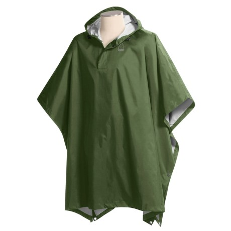 Sierra Designs Hurricane Poncho - Waterproof (For Men)
