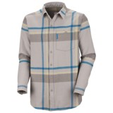 Columbia Sportswear Fusain Flannel Shirt - Long Sleeve (For Men)