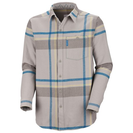 Columbia Sportswear Fusain Flannel Shirt - Long Sleeve (For Men)