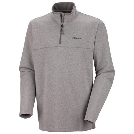 Columbia Sportswear Schuss Pullover Shirt - Zip Neck, Long Sleeve (For Men)