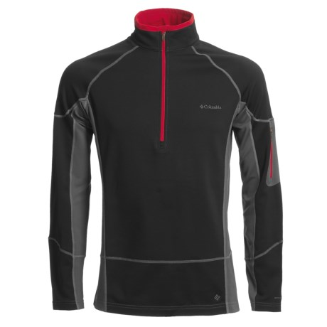 Columbia Sportswear Out & Back Fleece Pullover - Zip Neck (For Men)