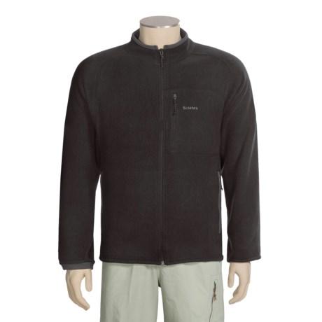 Simms Rivershed Cardigan Fleece Jacket - Polartec® Thermal Pro® (For Men)