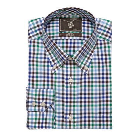 Maker & Company Oxford Check Sport Shirt - Long Sleeve (For Men)