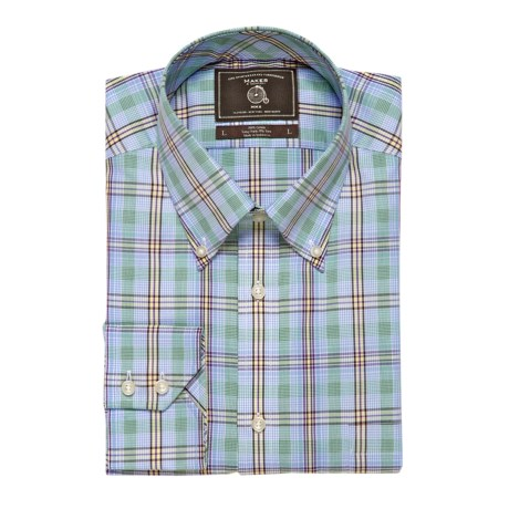 Maker & Company Plaid Sport Shirt - Long Sleeve (For Men)