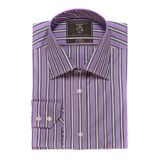Maker & Company Fancy Multi-Stripe Sport Shirt - Long Sleeve (For Men)