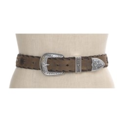 Ariat Western Star Belt - Distressed Leather (For Women)