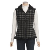 Woolrich Updated Somerton Vest - Wool, Sherpa Lining (For Women)