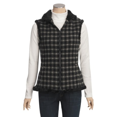 Woolrich Updated Somerton Vest - Wool, Sherpa Lining (For Women)
