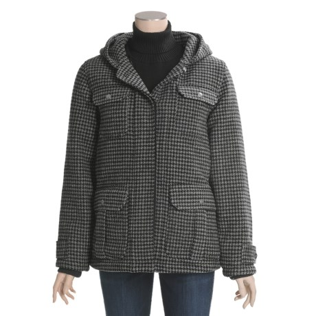 Woolrich Ryalee Wool Jacket - Insulated, Split Shawl Collar Hood (For Women)