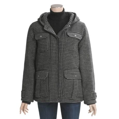 Woolrich Ryalee Wool Jacket - Insulated, Split Shawl Collar Hood (For Women)