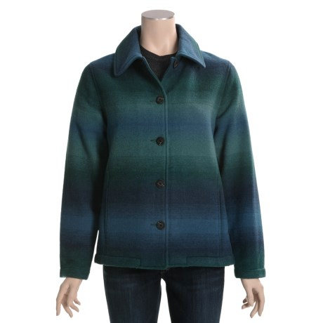 Woolrich Branton Jacket - Wool, Button Front (For Women)