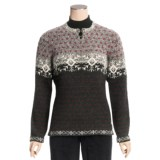 Woolrich Willow Grove Sweater - Lambswool Jacquard (For Women)